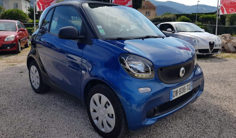 Smart Fortwo Coupe Pure 1.0 61ch faible kilométrage full