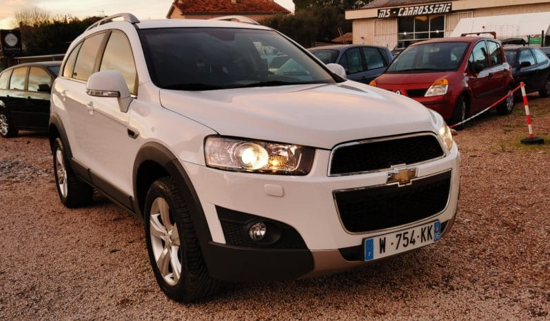 Chevrolet Captiva LT+ 2.2 163ch 7 places Cuir GPS 1ère main